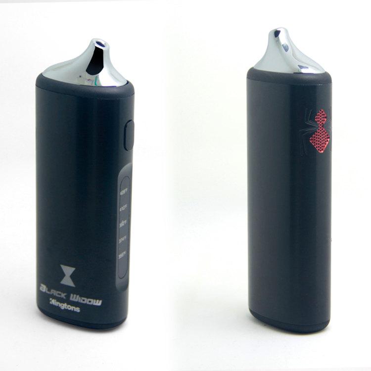 black window kingtons vaporizer electronic cigarett kit detail