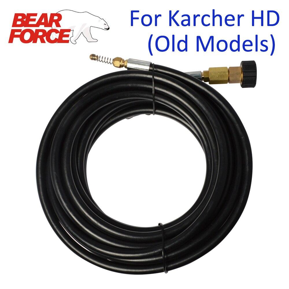 6 M 10 m 15 M 20 metros x 160bar 2320psi drenaje de alcantarilla manguera de limpieza de agua para Karcher HD/HDS arandelas de alta presión