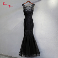 Jark Tozr 2019 New Arrive Beading Lace Mermaid Evening Dresses China Shop Online Vestido De Festa Vintage Formal Gowns Abiye