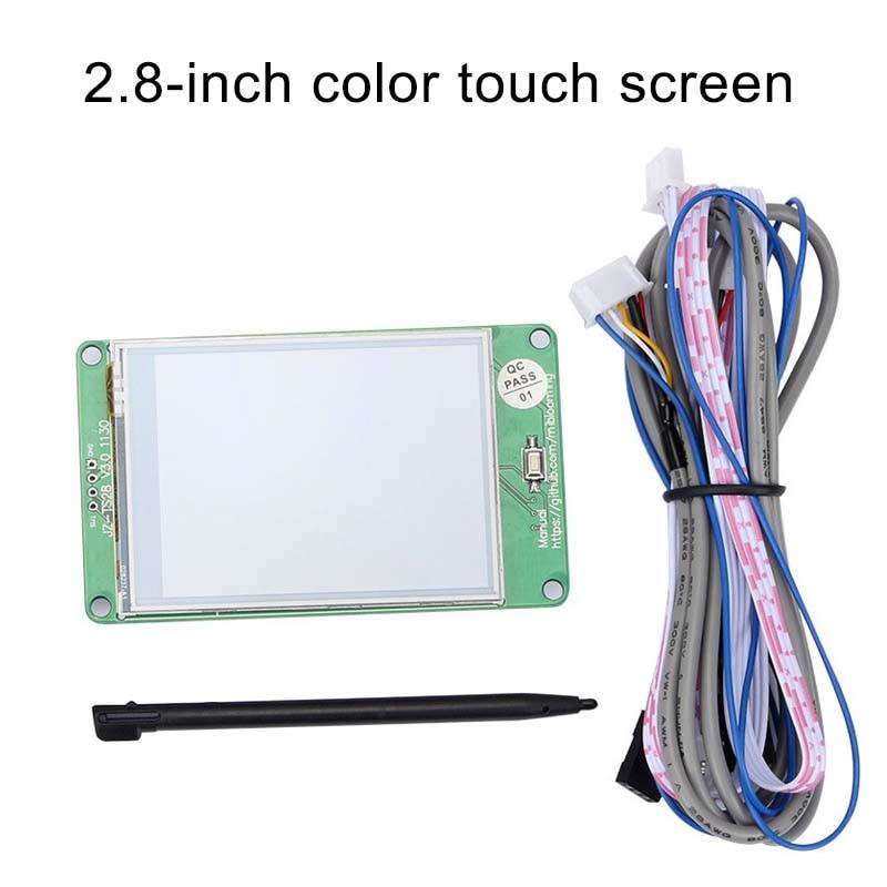JZ-TS28 2.8 pouces écran tactile couleur pour Ramps1.4 MKS Board 3D pièces d'imprimante QJY99