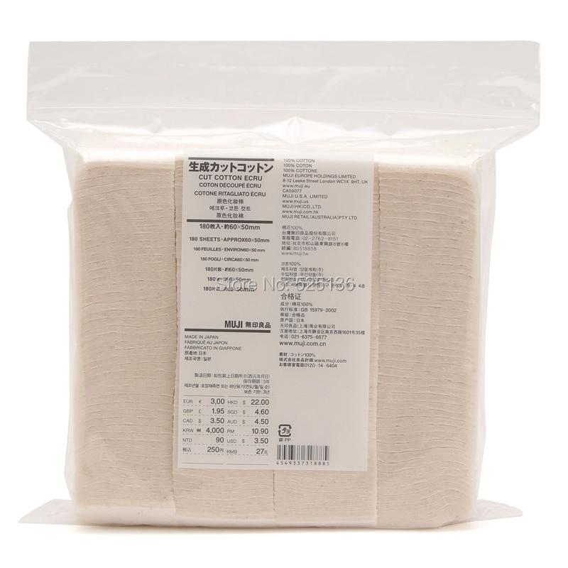 180 Pz 100% Originale Giapponese Cotone Organico Sigaretta Elettronica Di Cotone Per Rda Rba Atomizzatore No Candeggina Sano