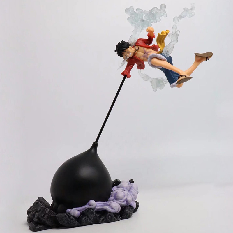 Us 24 99 One Piece Gear Third Luffy Action Figure 1 8 Scale Painted Figure Fighting Ver Monkey D Luffy Pvc Figure Toy Brinquedos Anime In Action