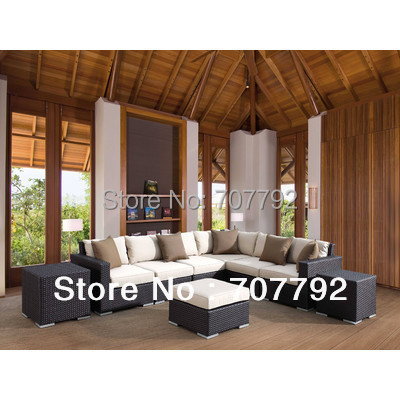 Enjoyable Us 711 55 5 Off New Design Luxury Solana Rattan Sectional Sofa Set In Garden Sets From Furniture On Aliexpress Com Alibaba Group Inzonedesignstudio Interior Chair Design Inzonedesignstudiocom