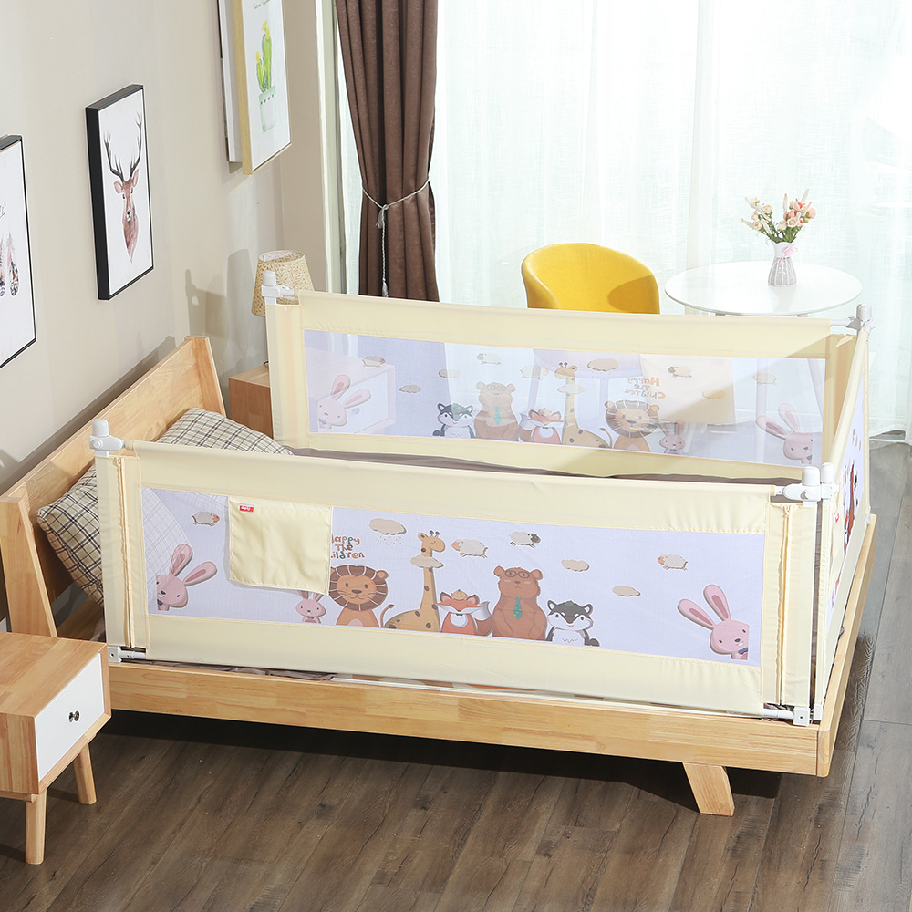 Baby Safety Fence Adjustable Children Infant Bed Guardrail Home Kids Playpen Safety Bed Bumper Baby Care Barrier For Beds Crib