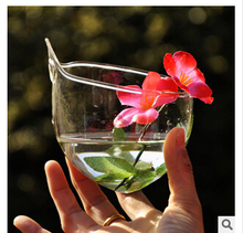 Creative wall-mountable contracted vase Ou crystal glass vase A hydroponic flower decorations