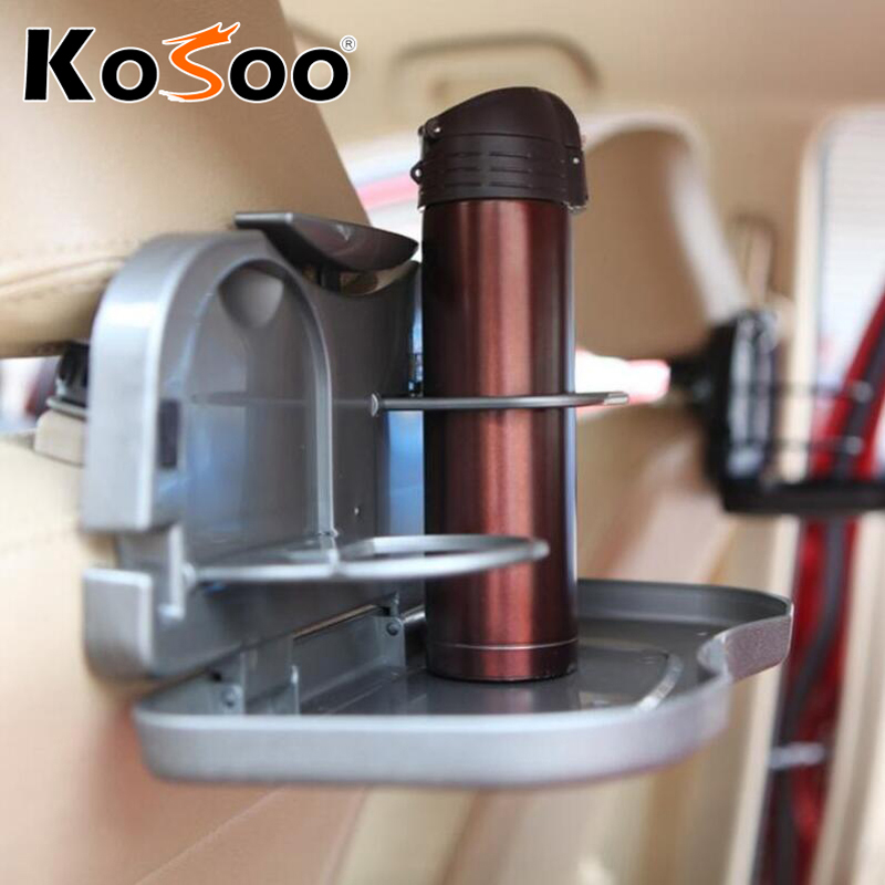 Small Drink Table Part - 42: KOSOO Free Shipping Car Backseat Multifunctional Small Dining Table Drink  Holder Shelf Auto Upholstery Supplies Car