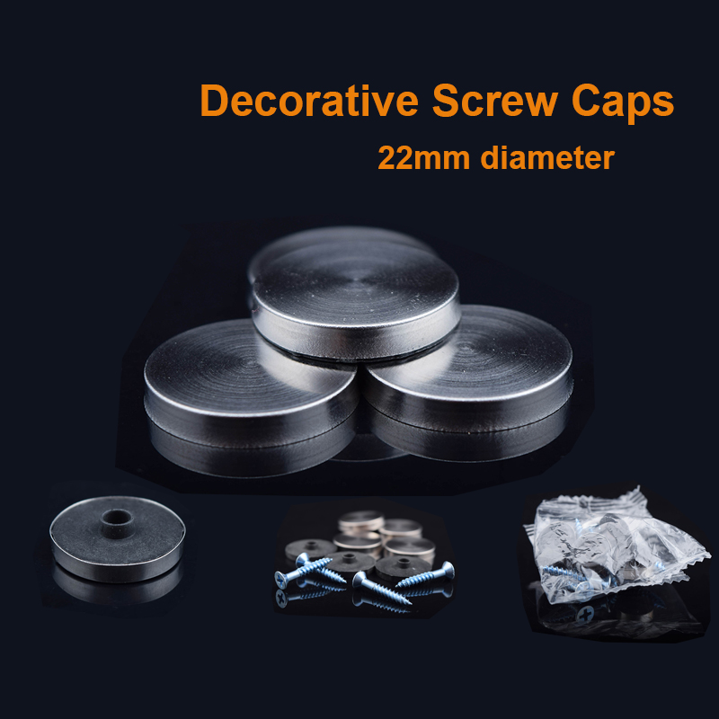 DHL Free shipping 1000sets Dia <font><b>22mm</b></font> Stainless steel decorative screw cover / Advertising cover caps image