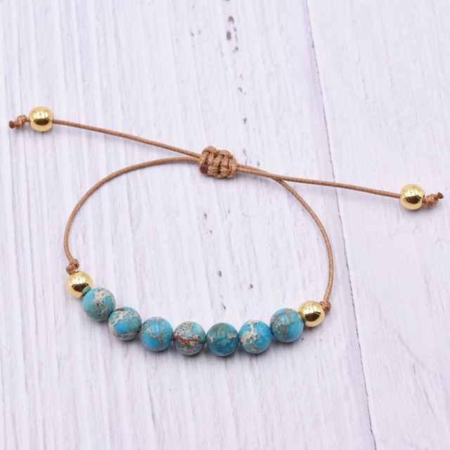 Boho Bracelet Natural Stone...