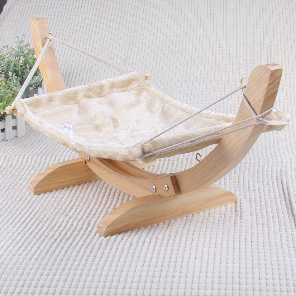 soft flock cat chair tree hammock bed window cat cage hammock washable cat kitty wooden bed mat dogs litter hanging house in cat beds  u0026 mats from home     soft flock cat chair tree hammock bed window cat cage hammock      rh   aliexpress