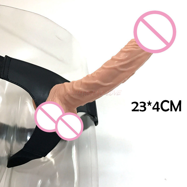 NEW 23*4cm Lesbian strapon sex toys dildo for women and men strap on dildo strap-on panties Dildo pants strapless strap on dildo strap on belt for dildo strapless dildo harness lesbian strapon sex toys dildo for women and men