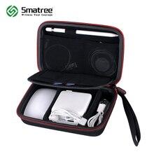 Smatree sert çanta A90 Apple kalem, sihirli fare, Magsafe güç adaptörü, manyetik şarj kablosu