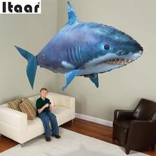 Remote Control Flying Fish RC Plastic Inflatable Blimp Animal Balloon Toys