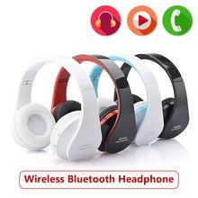 Handsfree Foldable Bluetooth headphone  Stereo headband cordless earphone for Computer PC Head Phone Set
