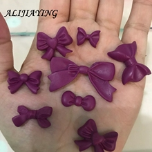 Beautiful Bow Silicone Mold Fondant Mould Cake Decorating Tools Chocolate Gumpaste Molds, Sugarcraft, Kitchen Accessories D0218