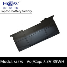 notebook battery for APPLE A1370 (2010 version) A1375 FOR MacBook 11 Air MC505LL/A,MC506LL/A,MC507LL/A,MC969LL/A