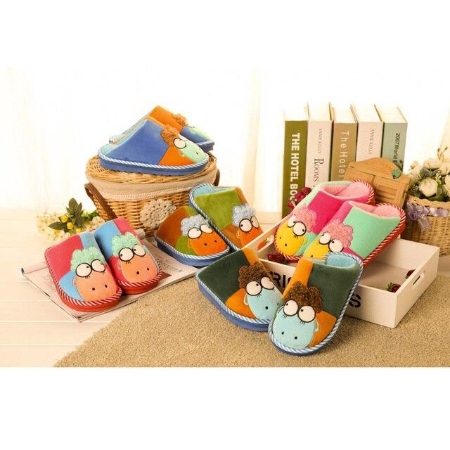 Симпатичные Маленькие Животные детская Бытовая Обувь Pantoufle Enfant Детские Тапочки Тапочки Шоссон Enfant Детская Обувь Мальчик