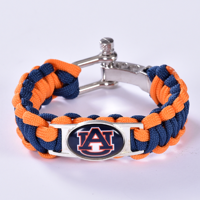 Online Auburn Tigers Custom Paracord Bracelet Ncaa College Football Charm Survival Drop Shipping 6pcs Lot Aliexpress Mobile
