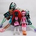 4 шт./лот Новый стиль монстр вкл высокой куклы монстр высота рождественский подарок Оптовая мода куклы