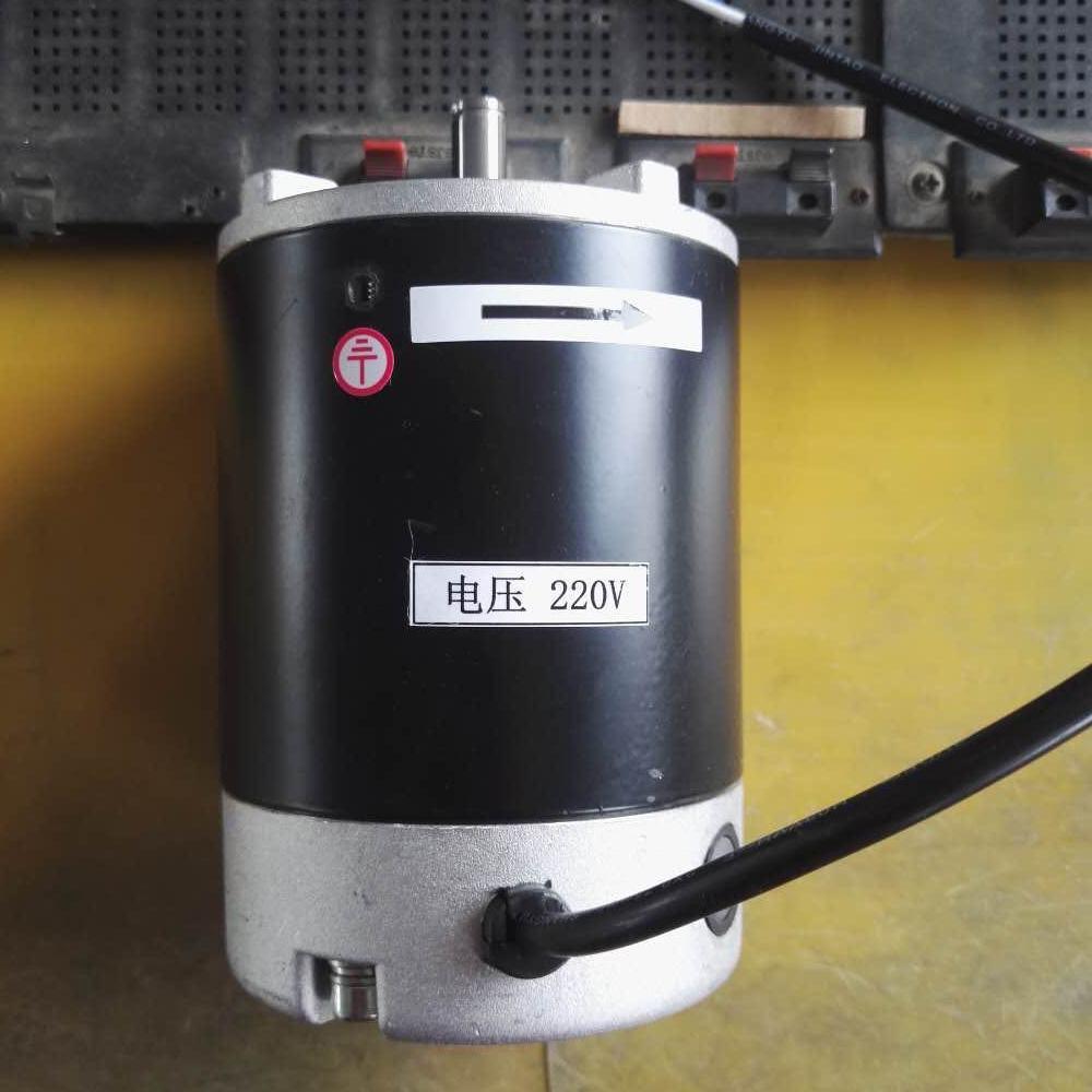 Moteur à courant continu 110 v 220 v 450 w 600 w 750 w 1100 w fraisage tour machine moteur 83mm diamètre wm180v wm210v