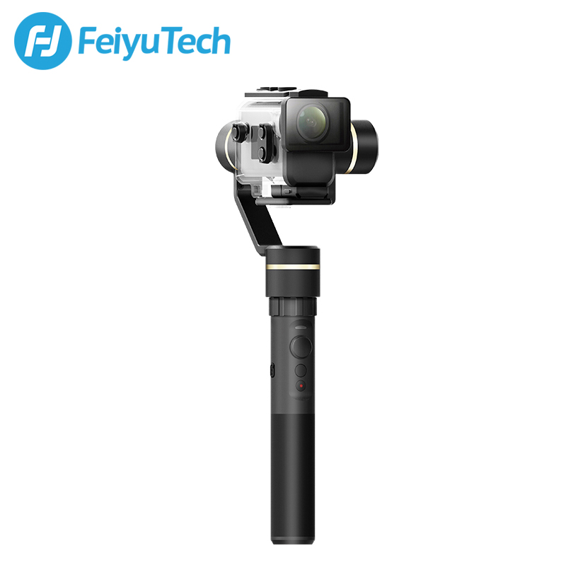 Image 4 - FeiyuTech G5GS Handheld Gimbal 3 Axis Camera Stabilizer for Sony AS50 AS50R  X3000 X3000R Splash Proof 130g 200g Payload-in Handheld Gimbal from Consumer Electronics