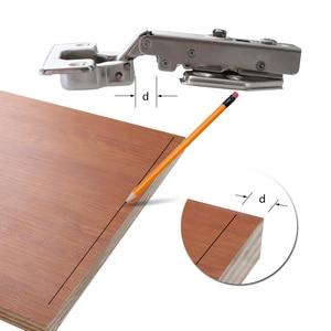 Image 2 - wood jig 35mm Hinge Jig Hole Saw For Furniture Door Cabinet Hinge Installation pocket hole jig tool for carpentry