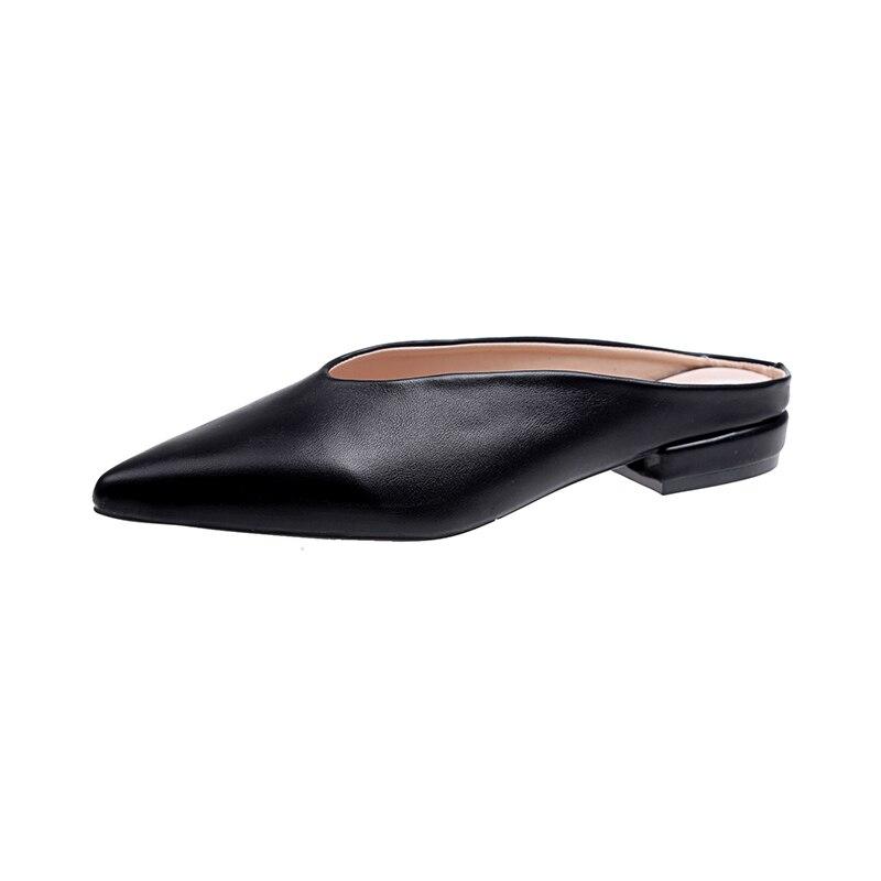 المرأة الصيف عارضة أحذية منخفضة الكعب - أحذية المرأة
