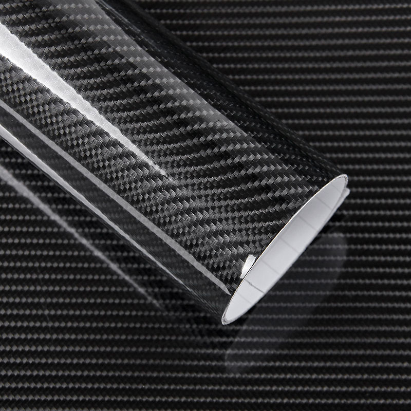 30CM 152CM High Glossy 5D Carbon Fiber Vinyl Film Car Wrapping Film Motorcycle Tablet Car Styling