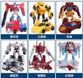 Children Plastic deformation robot diecasts toy vehicle boy Transformation toys Optimus Prime Galvatron model 6 kinds available
