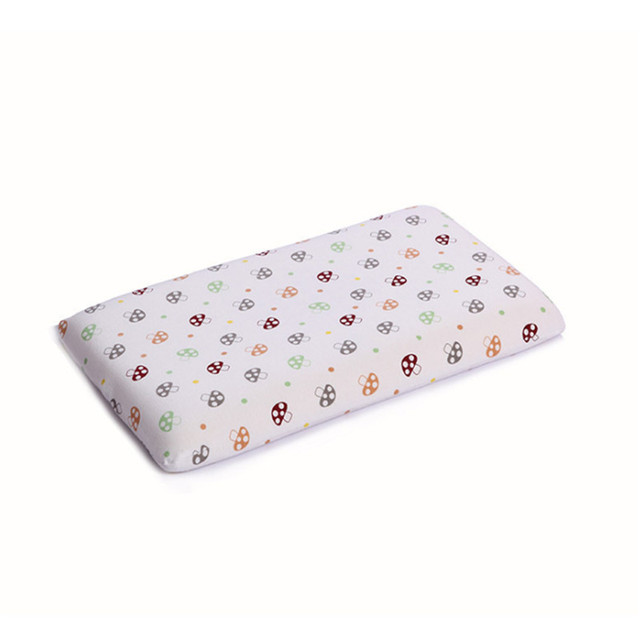 1pc Fashion Print Baby Pillow Neck Protection Memory Foam Pillows For Children Boys Girls Babies 2016 New Free Shipping