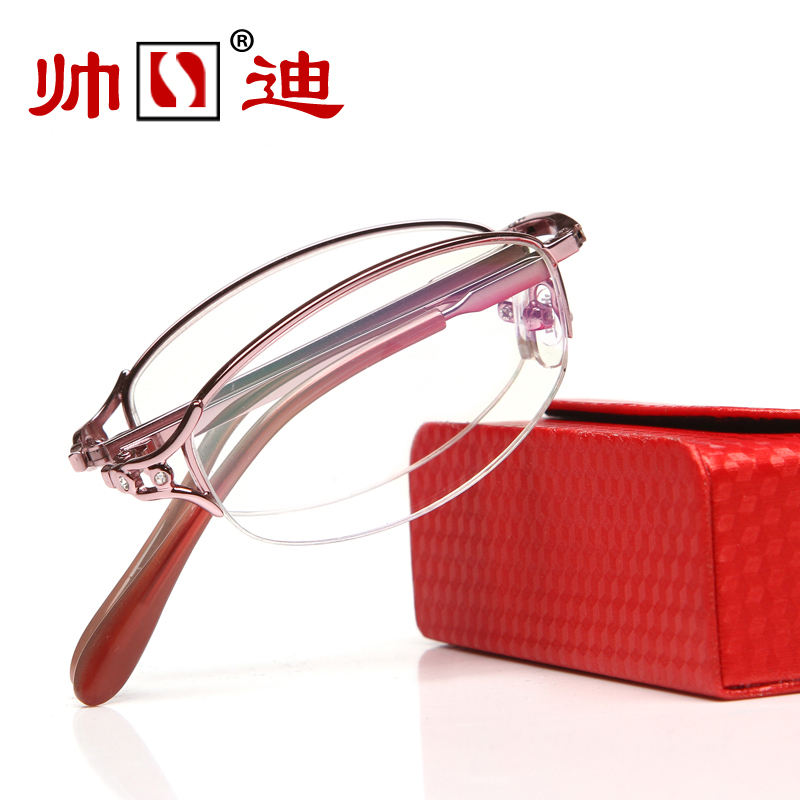 folding presbyopic glasses men and women fashion ultra light anti fatigue portable resin presbyopic glasses female