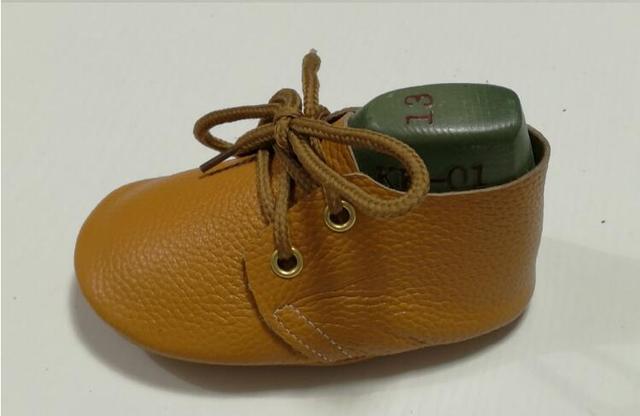 2017 Nueva lace up oxford zapatos de bebé de Cuero Genuino Bebé mocasines Bebé suave Zapatos de suela Primer Caminante Chaussure Bebe infantil zapatos