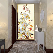 Professional customization of complete pattern glass film Retro style Opaque Frosted decorative Window Films Privacy stickers
