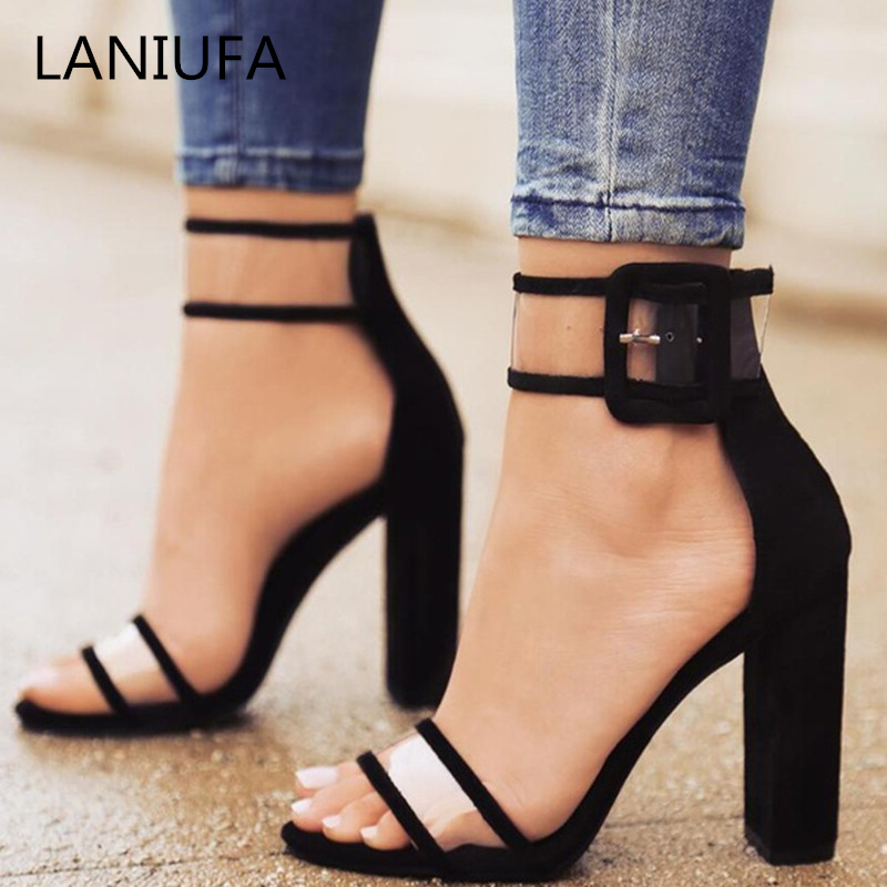 Woman Pumps <font><b>Shoes</b></font> High Heels T-stage <font><b>Sexy</b></font> women Dancing Party Wedding ladies <font><b>shoes</b></font> Zapatos Mujer Sapato chaussures Feminino #042 image