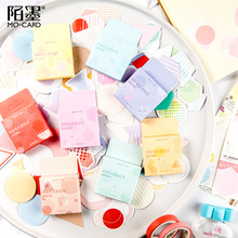 46PCS/PACK Kawaii Cute Round Triangle Grid Sticker Marker Planner Book Diary Decorate Stationery Stickers Scrapbooking sl1966