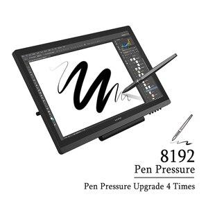 Image 2 - HUION KAMVAS GT 191 القلم شاشة عرض 8192 مستويات IPS شاشات كريستال بلورية الرسم البياني الرقمي رصد مع الهدايا