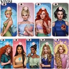 цена Princess Tinker Bell Cinderella Ariel Snow White Case For Xiaomi Redmi mi 8 Mi 9 Note 5A 6 4 A2 Lite A1 4X 6 4A 5X Etui Coque онлайн в 2017 году