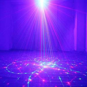 Image 5 - ALIEN 96 Patterns Dual Red Green Laser Projector Blue LED Stage Lighting Effect DJ Disco Club Party Wedding Light With Remote