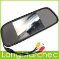 5 Pulgadas 480x272 Pantalla de Ángulo de Visión Amplio TFT LCD A Color de Coches Retrovisor Monitor