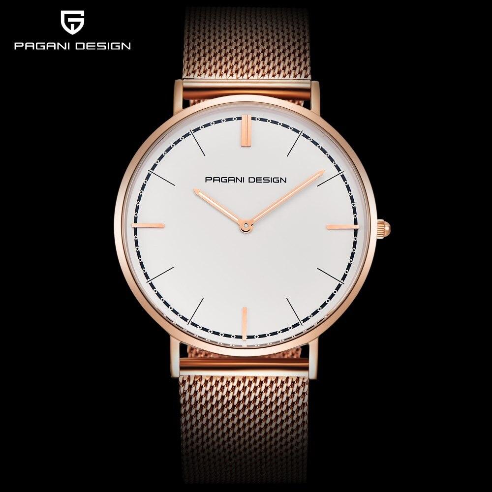 PAGANI DESIGN Brand Fashion Lovers Watches Men Stainless Steel Bracelet Watch Women Waterproof Quartz Watches Relogio Masculino стоимость