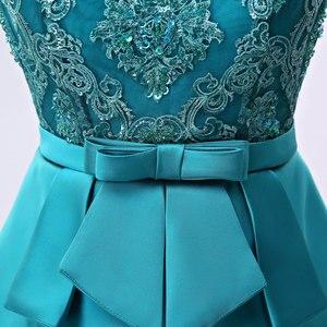 Image 5 - FADISTEE yeni varış zarif uzun elbise abiye parti vestido de noiva resmi aplikler kristal uzun tarzı