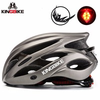 KINGBIKE Bicycle Helmets 56 62cm EPS PC Light Helmet Cascos Ciclismo Integrally Molded Cycling Helmets Road