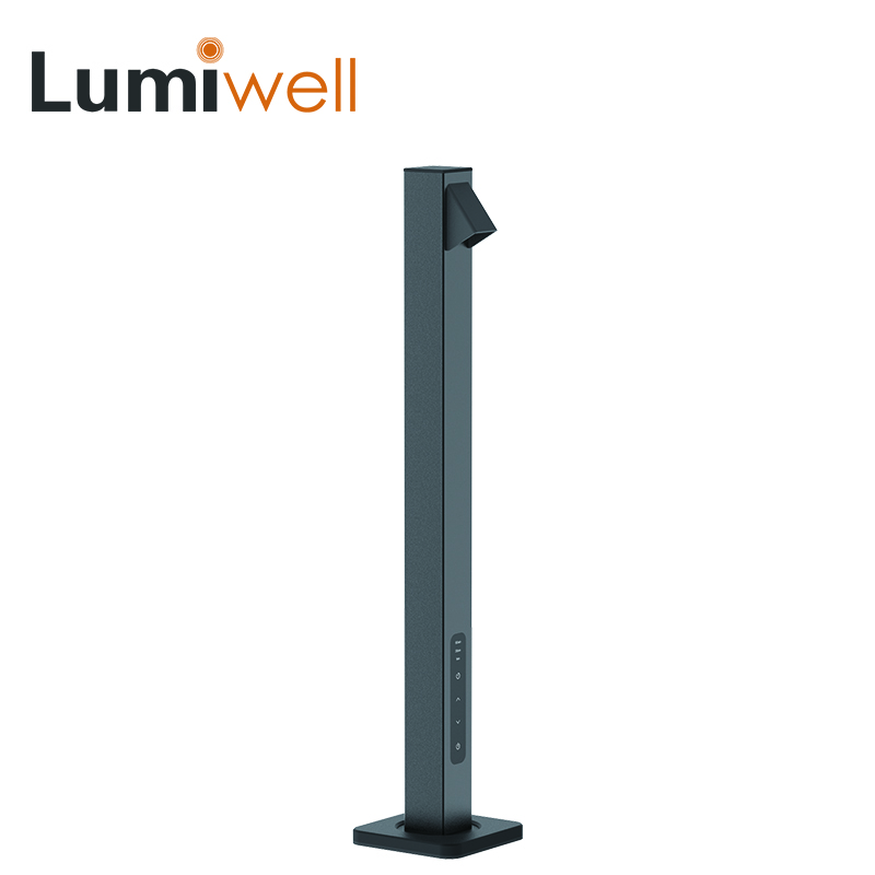 где купить Lumiwell led desk lamp book reading led table light study touch 5 level dimming 7w USB charger led table lamp lampe bureau led по лучшей цене