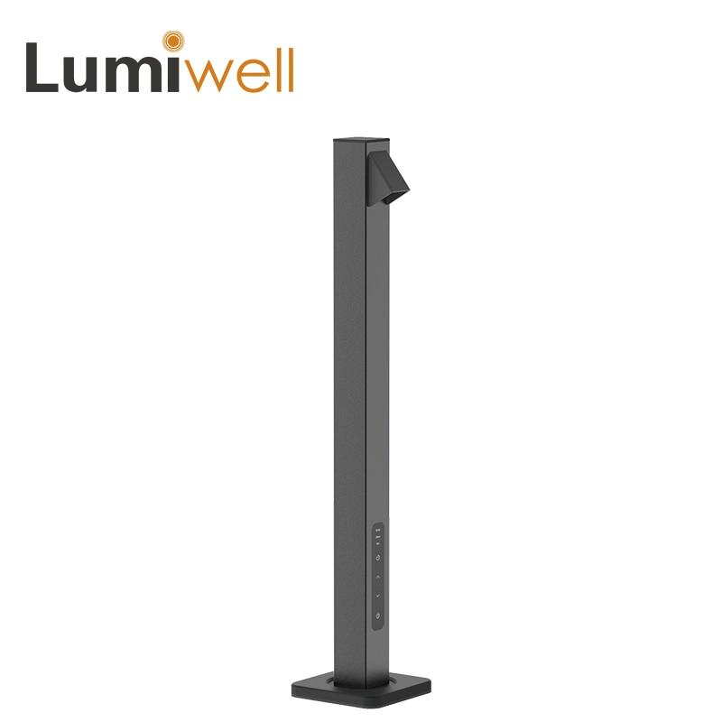 Lumiwell led lampe de bureau livre led de lecture table lumière étude tactile 5 niveau gradation 7 w USB chargeur led lampe de table lampe bureau led