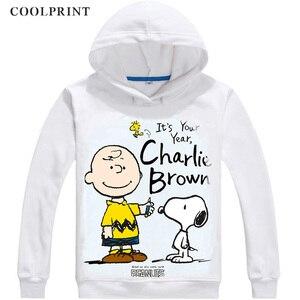 Image 3 - ERDNÜSSE Mens Hoodies Charlie Brown Woodstock Charles Monroe Sparky Anime Sweatshirt Streetwear Nach Hoodie Kostüm Mit Kapuze