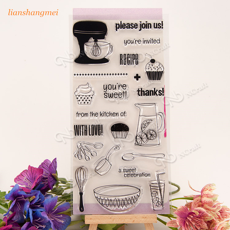 Please jion us Clear Silicone Stamp for DIY scrapbooking/photo album Decorative craft christmas holiday wishes clear silicone rubber stamp for diy scrapbooking photo album decorative craft clear stamp chapter
