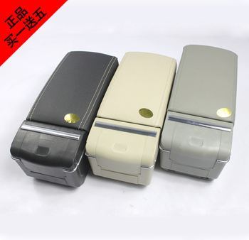 Il punzone speciale box auto bracciolo con luci A LED di lusso a mano per Chevrolet Sail con scivolo versatile copertura scorrevole