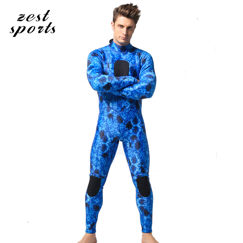 men 3mm neoprene diving suit/wetsuit, keep warm swimsuit,Three-dimensional pattern,camouflage, hiding in seawater MY004 men s winter warm swimwear rashguard male camouflage one piece swimsuit 3mm neoprene wetsuit man snorkeling diving suit