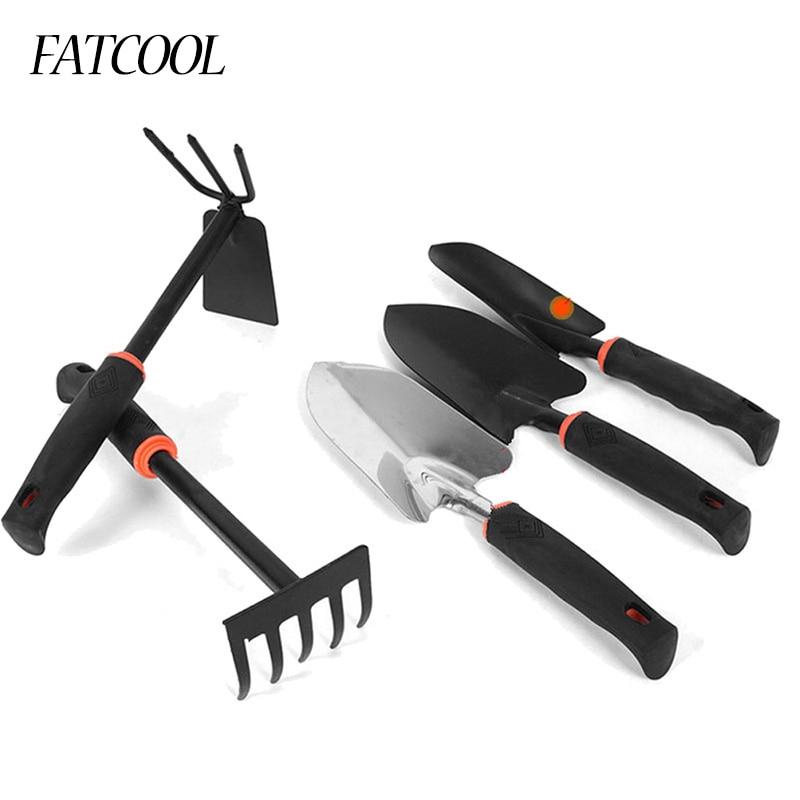 FATCOOL 1Piece 30cm Mini Garden Tool Rake/Shovel/Spade Plant Gardening Tool Portable Garden Tool