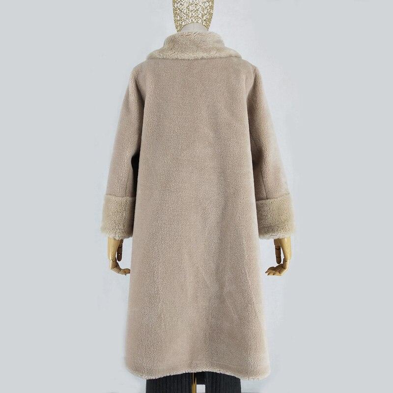 Femme Vêtements Taille 1 D'hiver D'agneau Moutons Fourrure Femmes Hiver Parkas 2019 Manteaux 2 Manteau Laine Plus Tonte Réel De Des Veste T6wBrqST