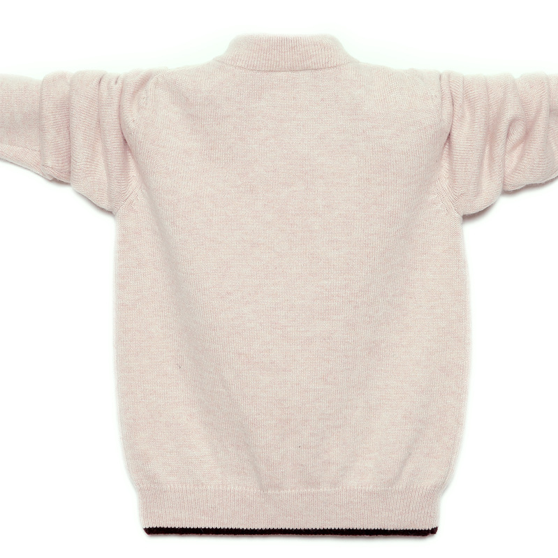 Winter Kids Pullover Sweater Warm Children 39 s Cardigan Sweater Girls Boys Wool Jumper High Quality Cashmere Sweater 100 180 cm in Sweaters from Mother amp Kids